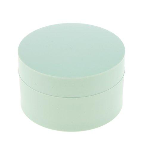 Baoblaze Pot Boîte Cosmétique Vide Rechargeable 30g/50g pour DIY Poudre Libre de Fard à Joues/Fond de Teint 5 g / 15 g - vert, 15g