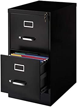 Realspace Metal 22 Inch D Vertical 2-Drawer File Cabinet