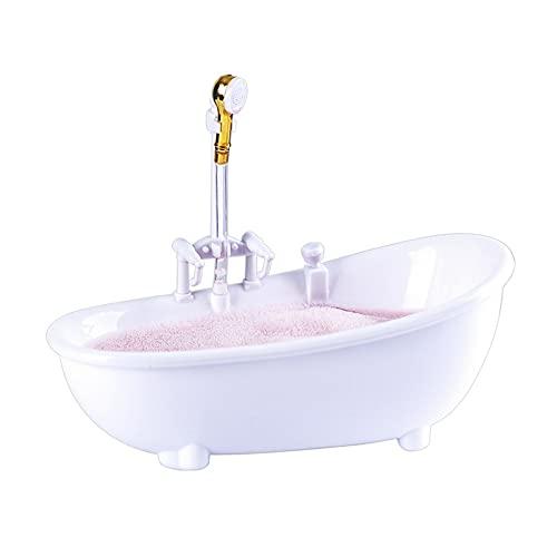 XKMY Copas de cóctel para bañera, cócteles, vasos eléctricos y cíclicos, para agua, batido, bebidas frías, bar, discoteca, bañera blanca, plato de bebidas (color: blanco)