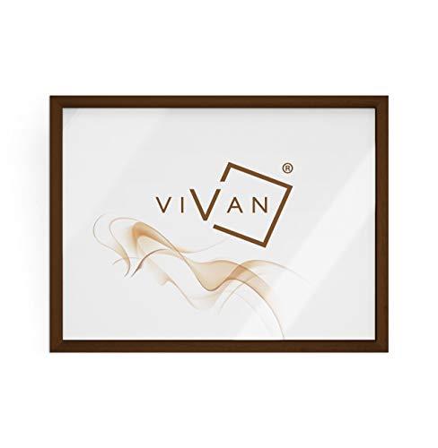VIVAN Marco de madera de nogal, formato de imagen A3