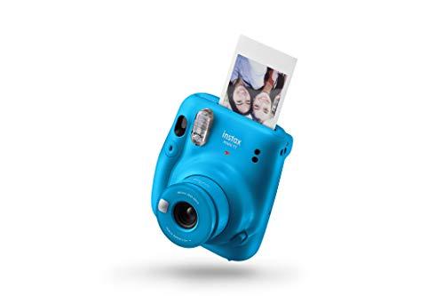 Fujifilm Instax Fotocamera Istantanea mini 11, Capri Blue [Amazon Exclusive]