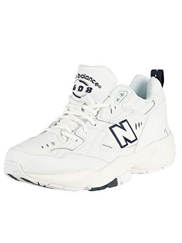 New Balance 608, Zapatillas para Correr de Carretera Hombre, White, 37 EU