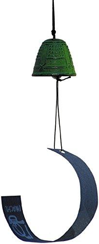 Glocke Feng Shui (grün)