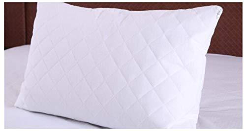 BEDDIANTAO Waterdichte Matrasbeschermer Rits Waterdicht Katoen Kussensloop Beschermer Voor Bed Bug Glad Anti-mijt Bed Wetting Wit Kussensloop