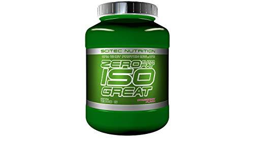 Scitec Nutrition Protein Zero sugar/Zero fat isogreat, Erdbeer, 2300g