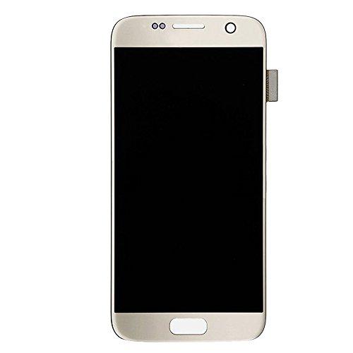 Spart onderdelen vervangen Nieuwe LCD-scherm + Touch Panel for Samsung Galaxy S7 / G9300 / G930F / G930A / G930V, G930FG, 930FD, G930W8, G930T, G930U (zwart) (Color : Gold)