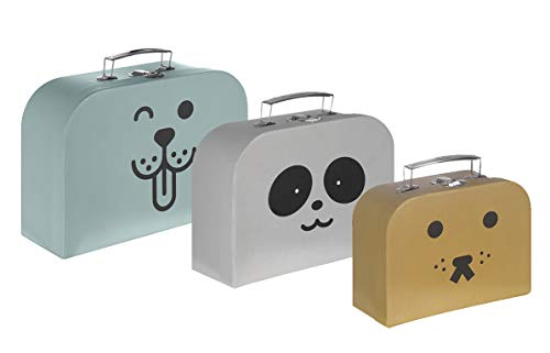 Kindsgut Suitcase-Set, 3 sizes, portable, animals