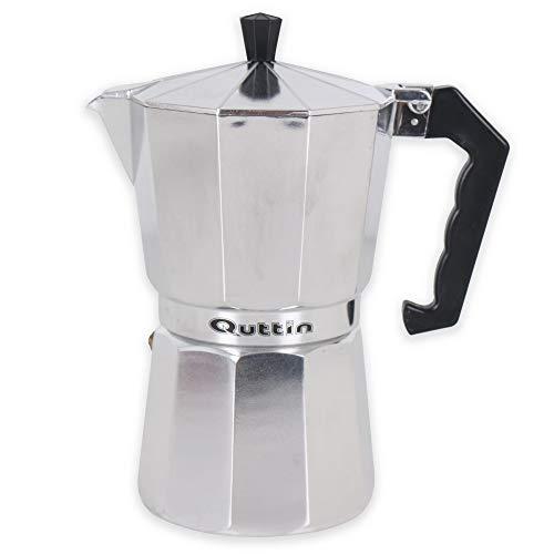 Quttin 8433774683308 Cafetera, Aluminio