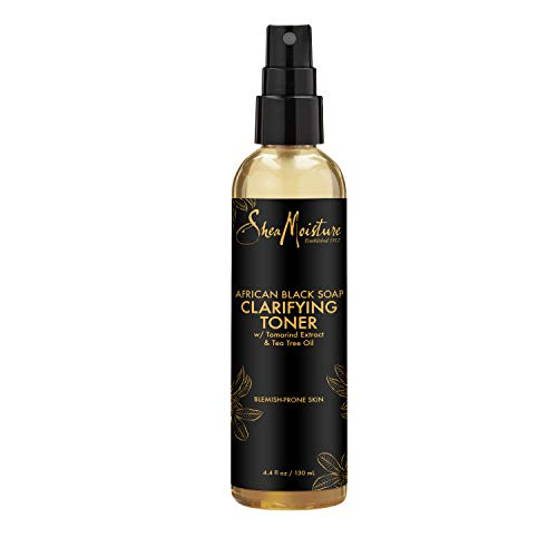 SheaMoisture Clarifying Toner for Problem Skin African Black Soap with Tea Tree Oil 4.4 oz