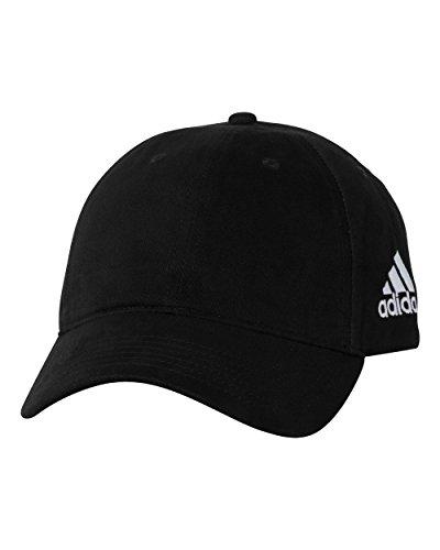 adidas Mens Unstructured Cresting Cap (A12) -Black -Adjustable
