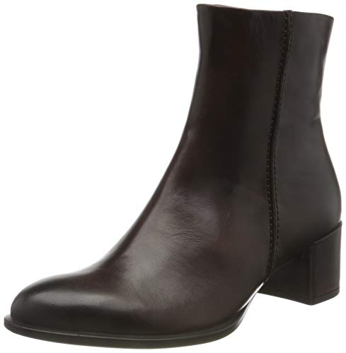 ECCO Damen Shape 35 Block The Natrual Ankle Boot, Braun (Chocolat), 38 EU