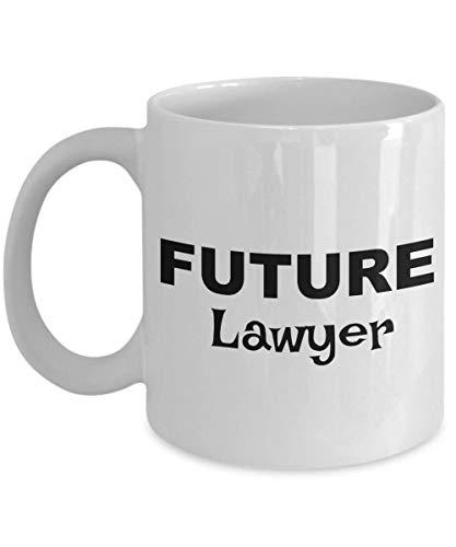 N\A Regalos de Abogado Futuro Taza de café de Abogado Regalo para Abogado Abogado Presente Taza de Abogado cumpleaños