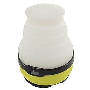 DOD(ディーオーディー) LED ソーラー ポップアップ ランタン USB充電(電池別売り) 連続点灯80時間 200ルーメン