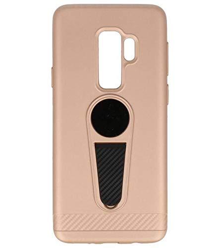 Microfoon series hoesje Samsung Galaxy S9 Plus Goud
