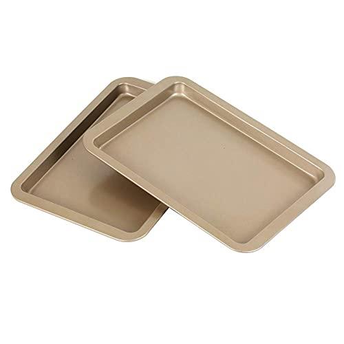 Bandeja antiadherente para horno de 30,3 x 22,2 cm, bandeja de repuesto para horno de galletas, bandeja para hornear, 2 unidades
