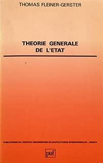 Théorie générale de l'Etat (Publications de l'Institut universitaire de hautes études internationales, Genève) (French Edition)