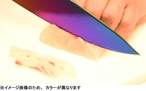 スミカマ(SUMIKAMA)霞(KASUMI)チタニウム剣型包丁20cmブルー22020/B