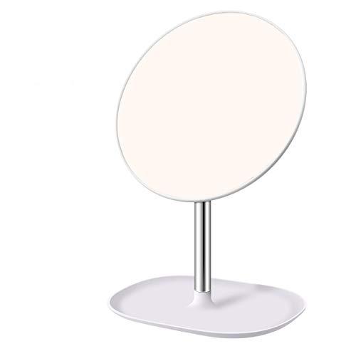 LOUTYTUO Hd Make-up Spiegel 120°Rotatie Draagbare Afneembare Aanrechtblad Cirkel Tafelblad Vanity Spiegel