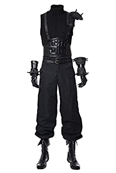 Mesodyn Adult Final Fantasy VII Remake Cloud Strife Costume Halloween Cosplay Suit Small
