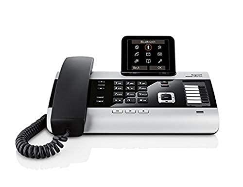 Gigaset DX800A Téléphone filaire DECT/GAP/VoiP avec écran 3,5' Bluetooth Noir