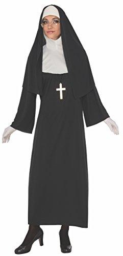 Complete Women's Nun Halloween Costume Set