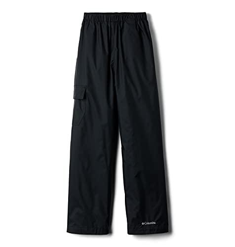 Columbia unisex child Cypress Brook Ii Rain Pants, Black, Medium US