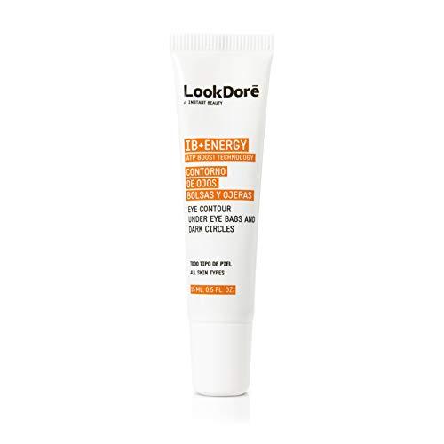 Lookdore IB+ Energy Crema Contorno de Ojos - Corrector Ojeras - Vitamina C Facial - Anti Fatiga