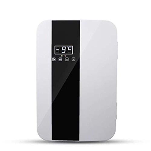 22LMini Refrigerador y Calentador de Nevera, -9~65 ° C Refrigerador portátil de Temperatura Ajustable con Fuente de alimentación AC + DC Dormitorio Oficina RV Coche Viajes