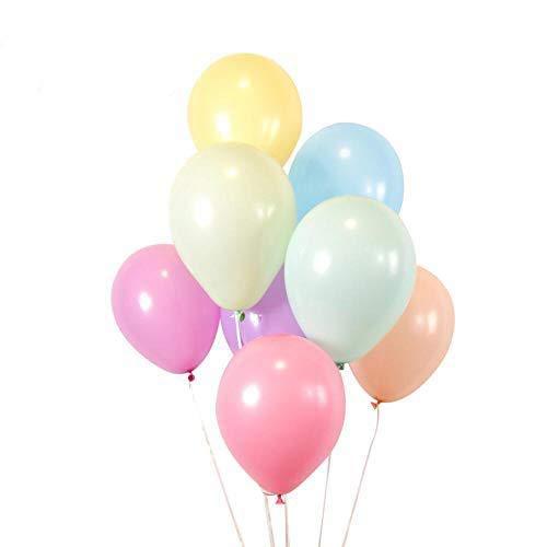 """BALLOON CLOUD, 100 Luftballons Pastellfarben 10"""" Macaron, Helium Ballons für Kinderparty, Babyshower, Hochzeit, Valentinstag, Geburtstag, Weihnachten"""