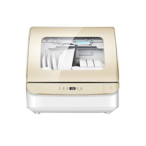 CLING Mini Geschirrspüler,Kochen Und Waschen Bei Hoher Temperatur Zur Sterilisation, 20 Minuten Pause Und Schnelles Waschen,Tischgeschirrspüler