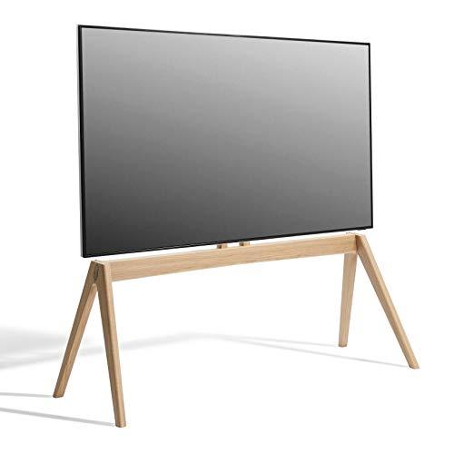 Vogel´s NEXT OP2 TV Standfuß in skandinavischem Design für 55-77 Zoll TV´s, VESA max. 400x400 mm, max. 50 kg