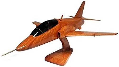 BAE Systems Hawk Military Aircraft Modèle de bureau en bois