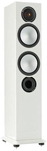 Monitor Audio Silver 6150W weiß Lautsprecher–Lautsprecher (2,5-voies, kabelgebunden, TERMINAL, 150W, 35–35000HZ, weiß)