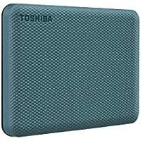 Toshiba Canvio Advance 1TB USB 3.0 Portable External Hard Drive (Green, HDTCA10XG3AA)