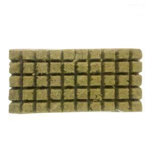 50 cubos/100 cubos de lana de roca de cultivo hidropónico cubos de lana de roca sin suelo Compress Base