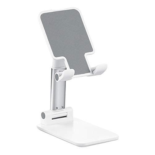 CXZC Soporte de tabletas plegable de altura ajustable, soporte para tabletas de mesa universal portátil compatible con iPad Galaxy Tab