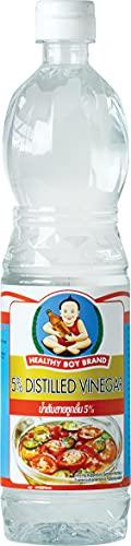 Healthy Boy Vinagre 5% Destilado 700 g - Lot de 6