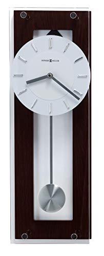Howard Miller Reloj de Pared | Wengué Negro Café – Altura 48 cm & Ancho 16 cm