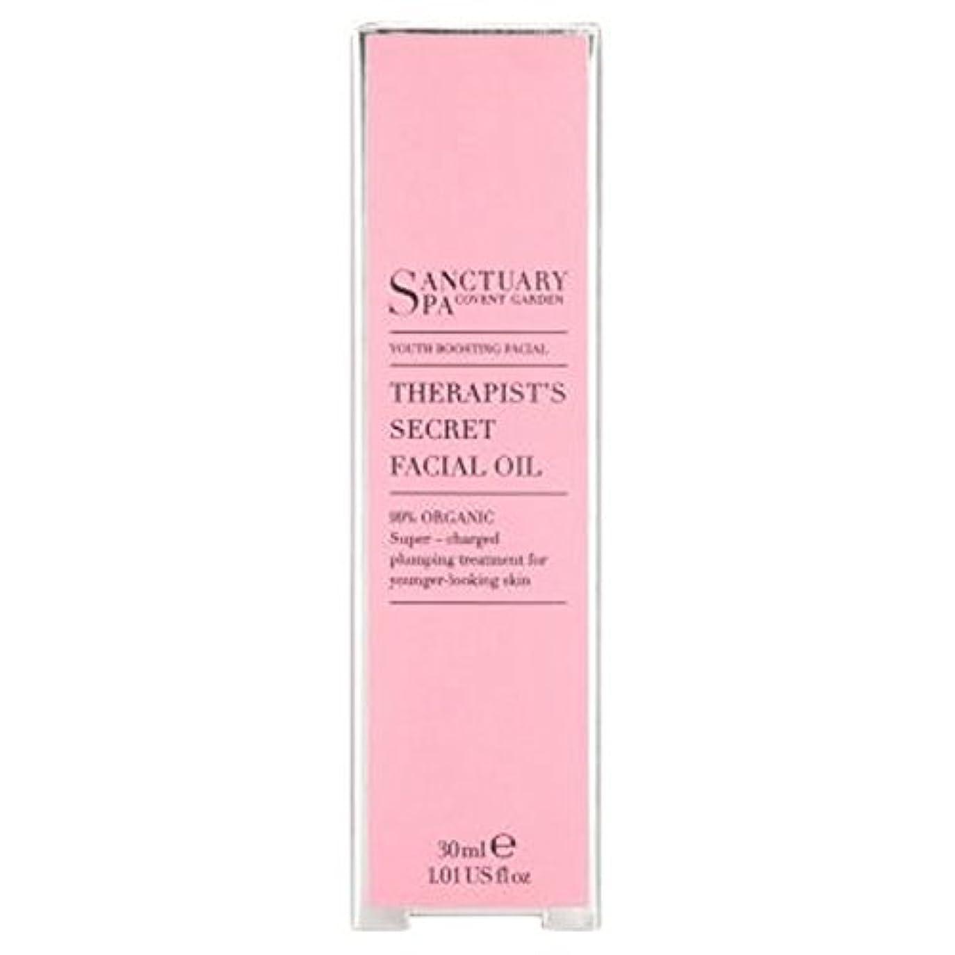 ブランドラケット凍結聖域セラピストフェイシャルオイル30ミリリットル (Sanctuary) (x2) - Sanctuary Therapists Facial Oil 30ml (Pack of 2) [並行輸入品]