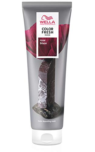 Maschera colorante Rose blaze Color Fresh Mask Wella 150ML