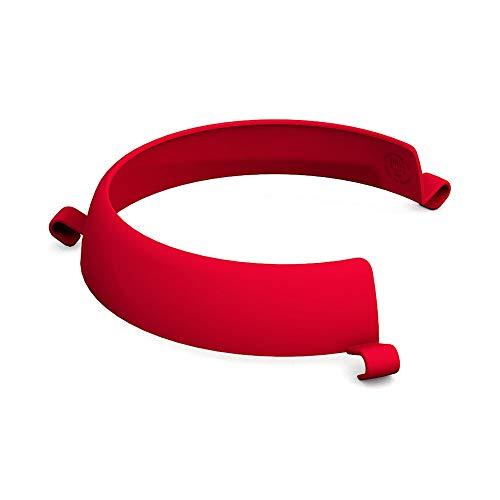 Ornamin Tellerranderhöhung rot (Modell 709) / Esshilfe, Alltagshilfe, Spezialgeschirr