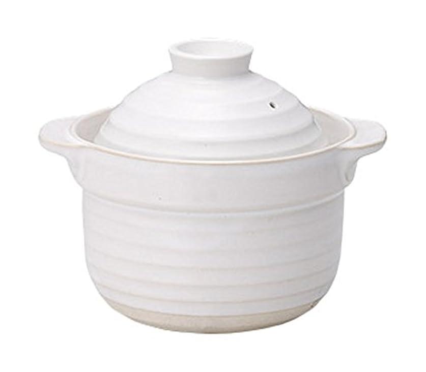靴下次へ夕食を食べる光洋陶器 ご飯鍋 2合炊き ホワイト 19801002
