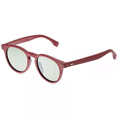 FENDI FF M0001/S EL C9A Gafas de Sol, Rojo (Red/Brown), 49 para Hombre