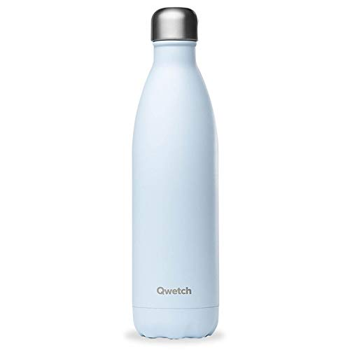 Qwetch thermosfles, roestvrij staal, pastelblauw, 750 ml