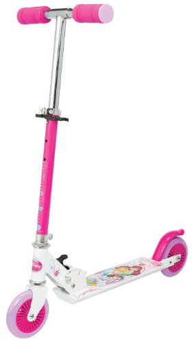 Princess J100076 - Patinete Plegable, diseño Princesas