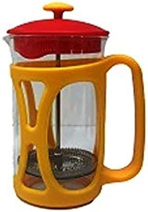 Cafetera Cafeteira Francesa Em Vidro Café 600 Ml Amarelo