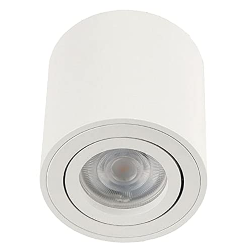 YSJJJBR Foco Empotrable LED Ajustable DIRIGIÓ Montaje de Superficie Redonda sin trimensales. GUIÓN Lámpara de Dormitorio Ligero de...