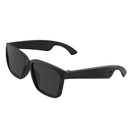 OFAY Gafas De Sol Bluetooth, Gafas De Sol TWS para Contestar Llamadas/Activar Asistentes De Voz, Gafas De Luz Azul Bluetooth 5.0 con Protección UV