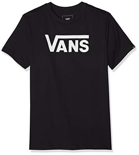 Vans Baby-Jungen Classic Kids T-Shirt, Schwarz (Black White Grey Melange), 6-7 Jahre (Herstellergröße: 6)
