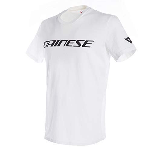Dainese 1896745-601-M Camiseta, Blanco/Negro, M